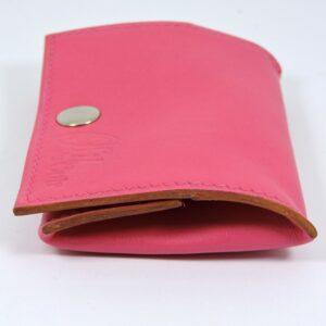 Porte monnaie cuir maroquinerie femme lyon rose accessoire