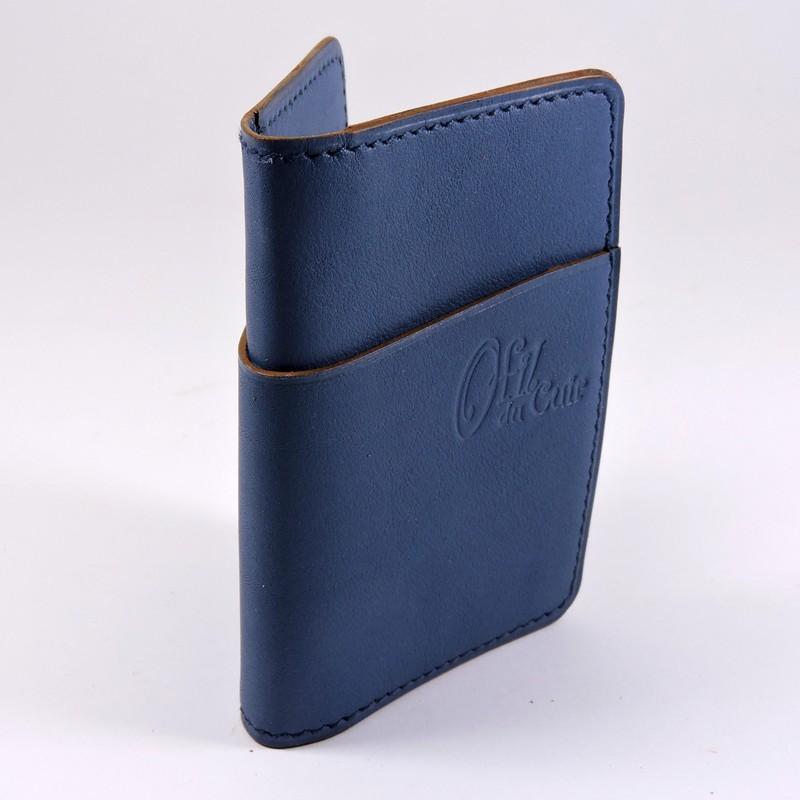 Royaume-Uni disponibilité info pour magasins d'usine Porte cartes bancaire duo en cuir