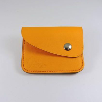 Porte monnaie cartes bancaires cuir-maroquinerie Lyon femme