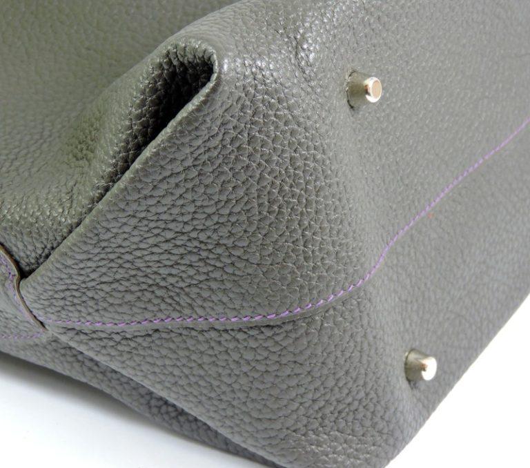 sac main cuir griane fond clou fond maroquinerie lyon femme