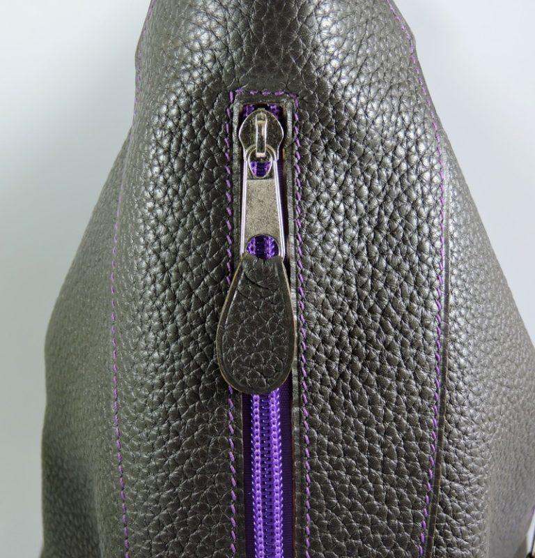sac main cuir graine maroquinerie lyon femme