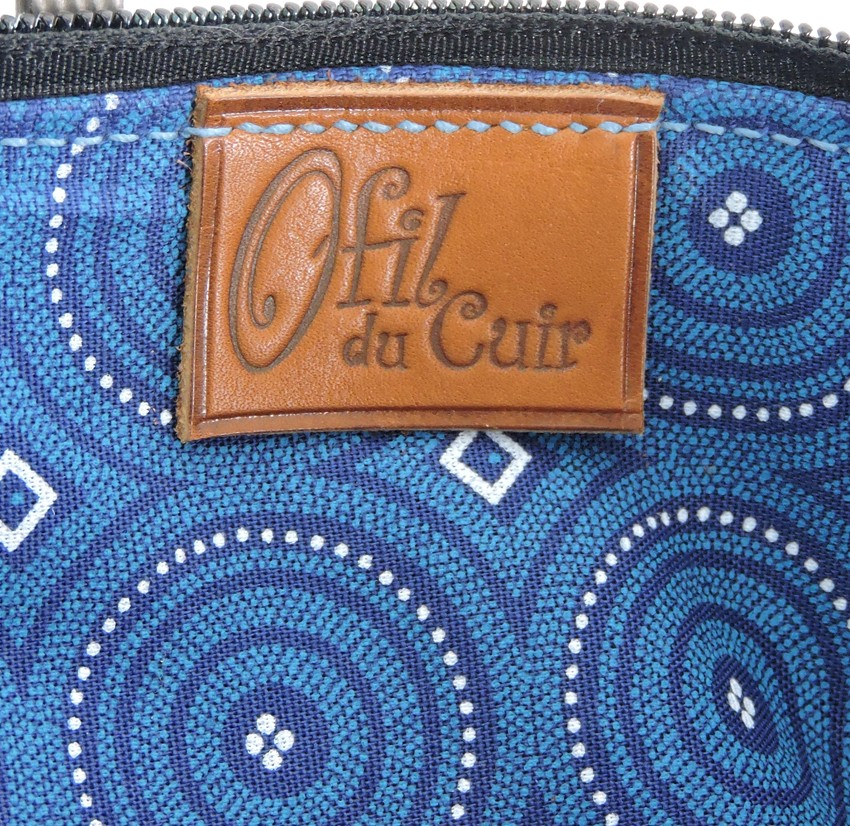 sac main doublure tissu femme maroquinerie lyon