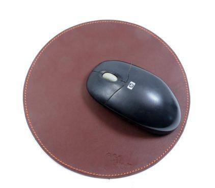 tapis souris ordinateur bureau cuir maroquinerie Lyon bordeaux