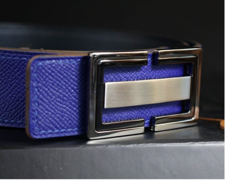 ceinture-cuir-bleu-ofilducuir-maroquinerie-lyon