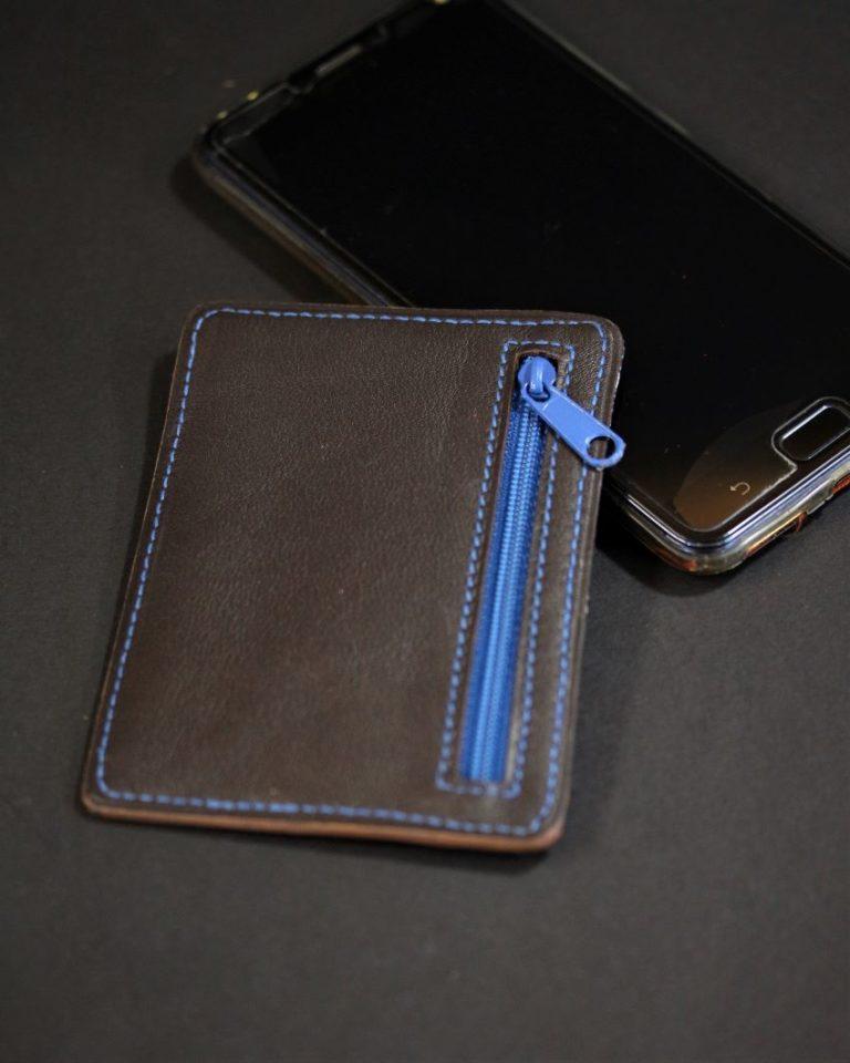 Porte cartes portefeuille cuir artisanat français lyonnais maroquinerie homme cuir ofilducuir
