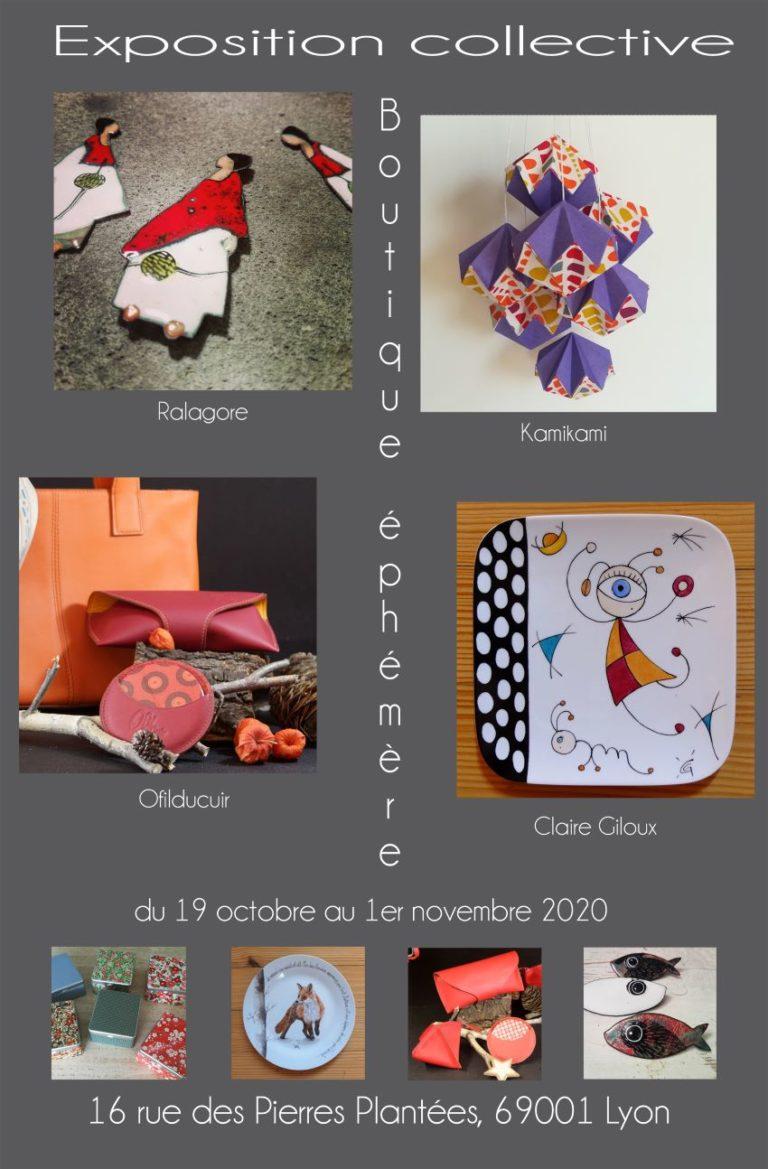 Une boutique éphémère de quatre créatrices à la Croix Rousse Lyon 1er